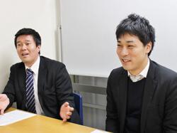 加藤さん(左)と武笠さん