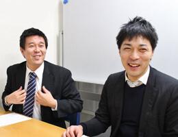 アンドワークス代表取締役 加藤雅彦、アンドワークスシニアコンサルタント 武笠彰範