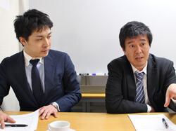加藤さん(右)と武笠さん