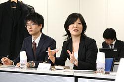 (株)三光マーケティングフーズ 高橋さん 向山さん