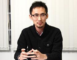 同社で最初に正社員となった松尾佑樹さん。現在は同社スポーツイベントディビジョン マネジャー兼執行役員。