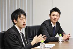 鳥貴族の久米氏(左)と大木氏